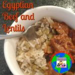 Egyptian beef and lentils geography lesson