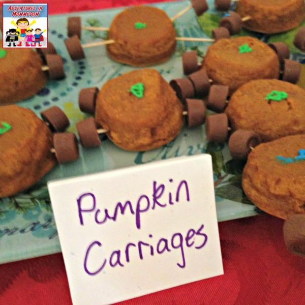 Ella Enchanted pumpkin carriages