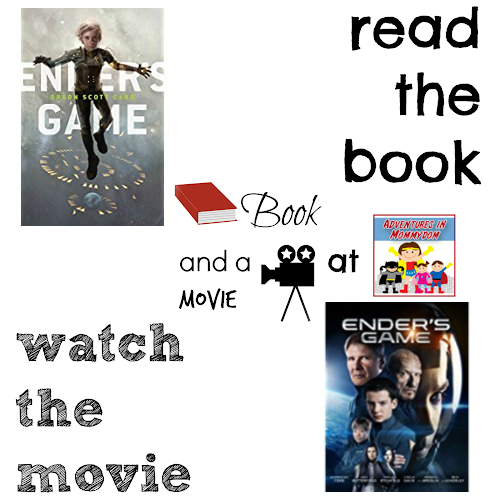 Ender's Game book and a movie feature 8th middle
