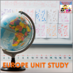 Europe unit study geography elementary high middle