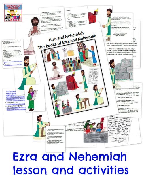 Ezra and Nehemiah Bible lesson
