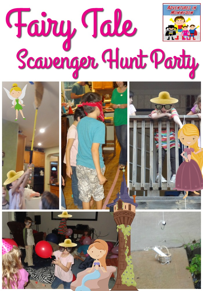 Fairy Tale Scavenger Hunt Party