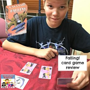 Falling card game review a quick five minute game