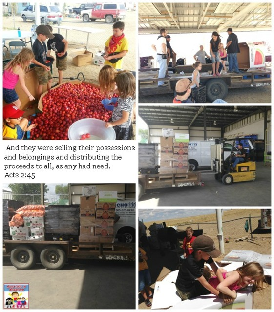 Family mission trip to help others