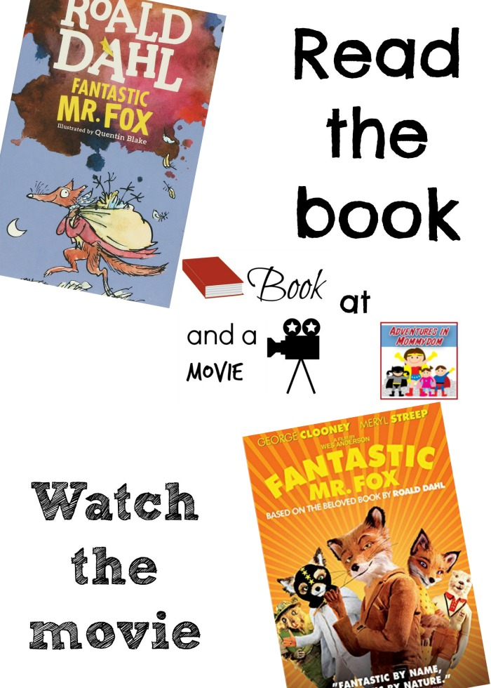 Fantastic Mr Fox book and a movie