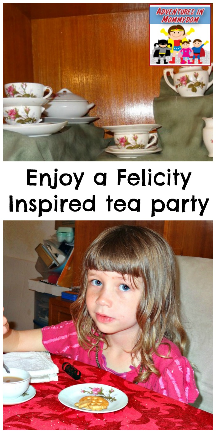 Felicity inspired tea party