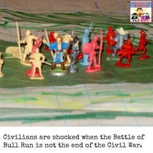 First Battle of Bull Run simulation