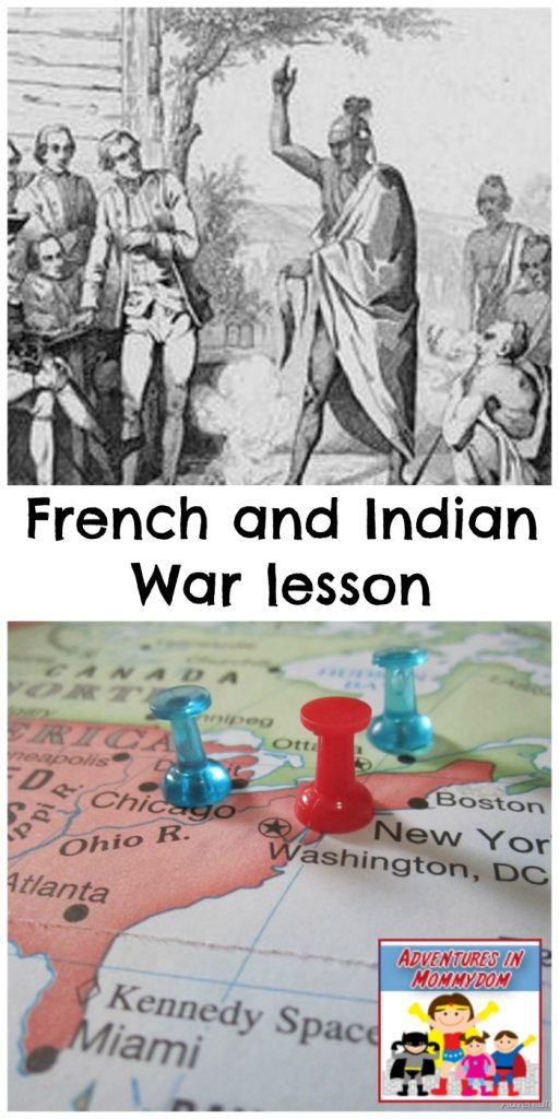 French and Indian War lesson for elementary