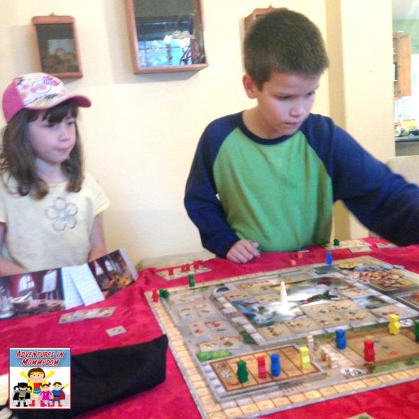 Fresco history board game