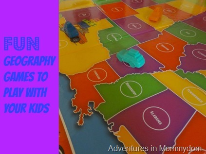 Fun geography games to play with your kids