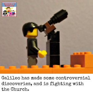 Galileo history lesson, or why you shouldn't smart off to those in charge