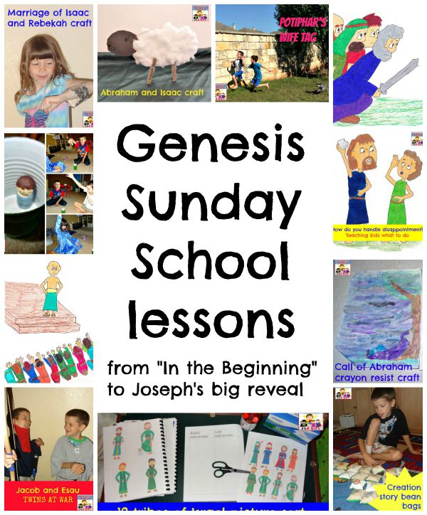 Genesis Sunday School lessons