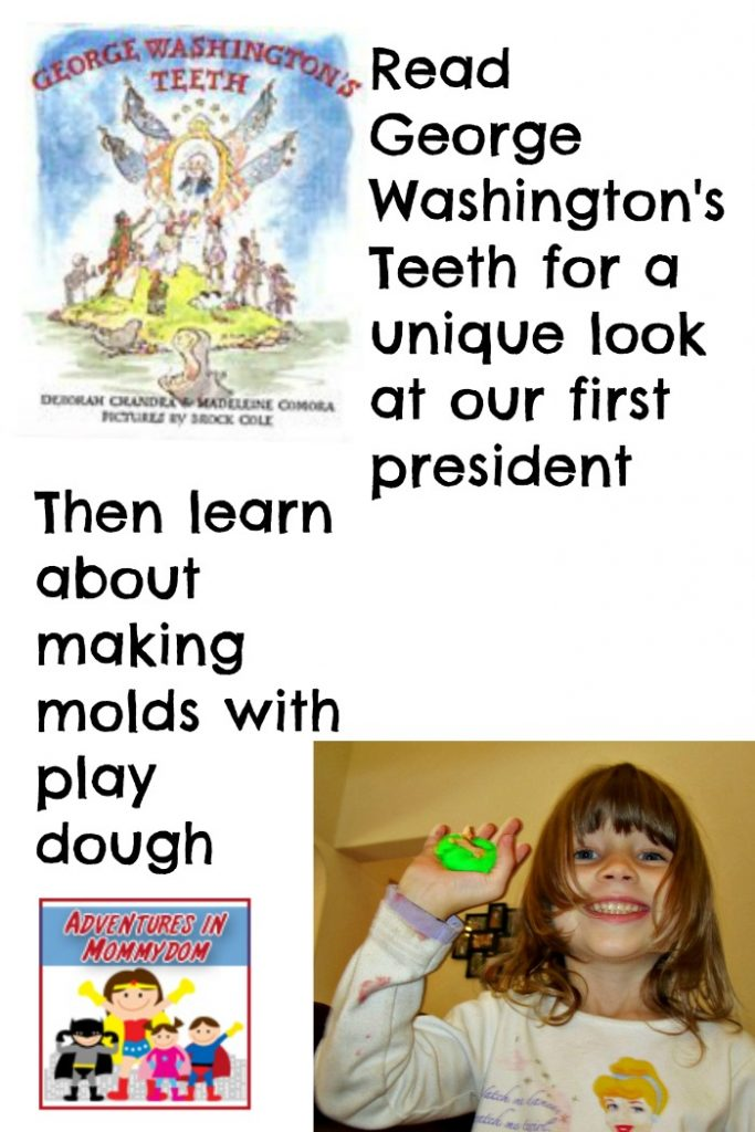 George Washington's teeth activity for preschool