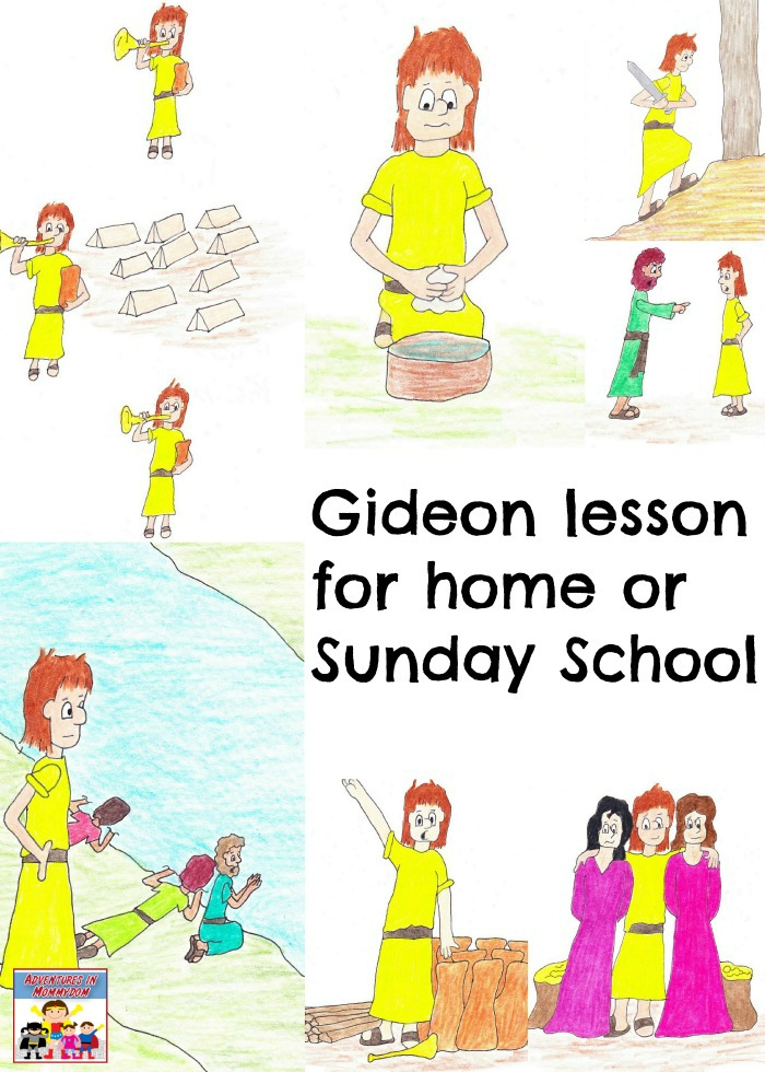 Gideon lesson for home or Sunday School