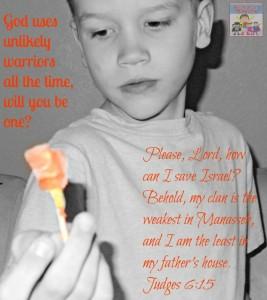 Bible: Gideon activities for kids
