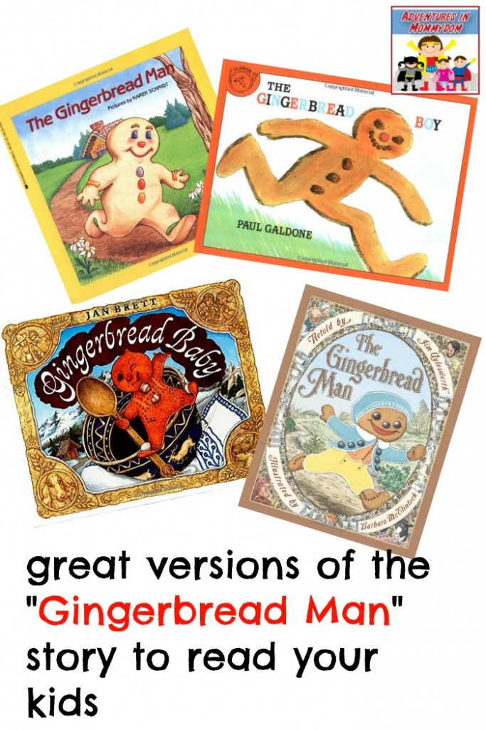Gingerbread man books to read your kids