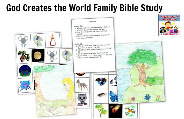 Creation story activities unit
