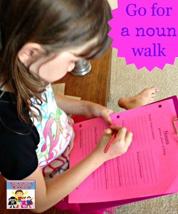 Go for a noun walk
