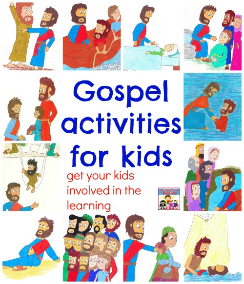 Gospel activities for kids