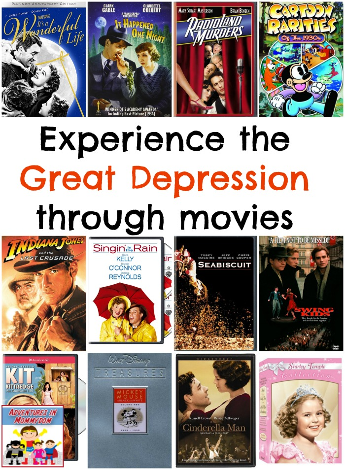 Great Depression movies