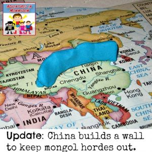 Great Wall of China lesson
