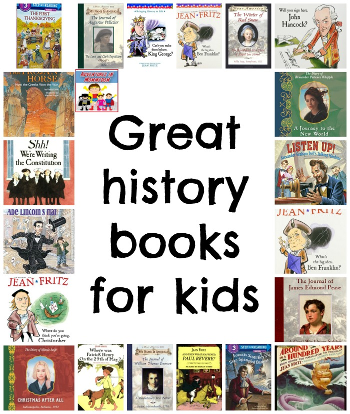 Great history books for kids