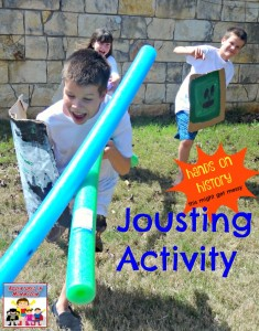 Hands on history jousting activity