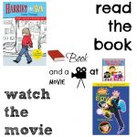 Harriet the Spy book and a movie feature