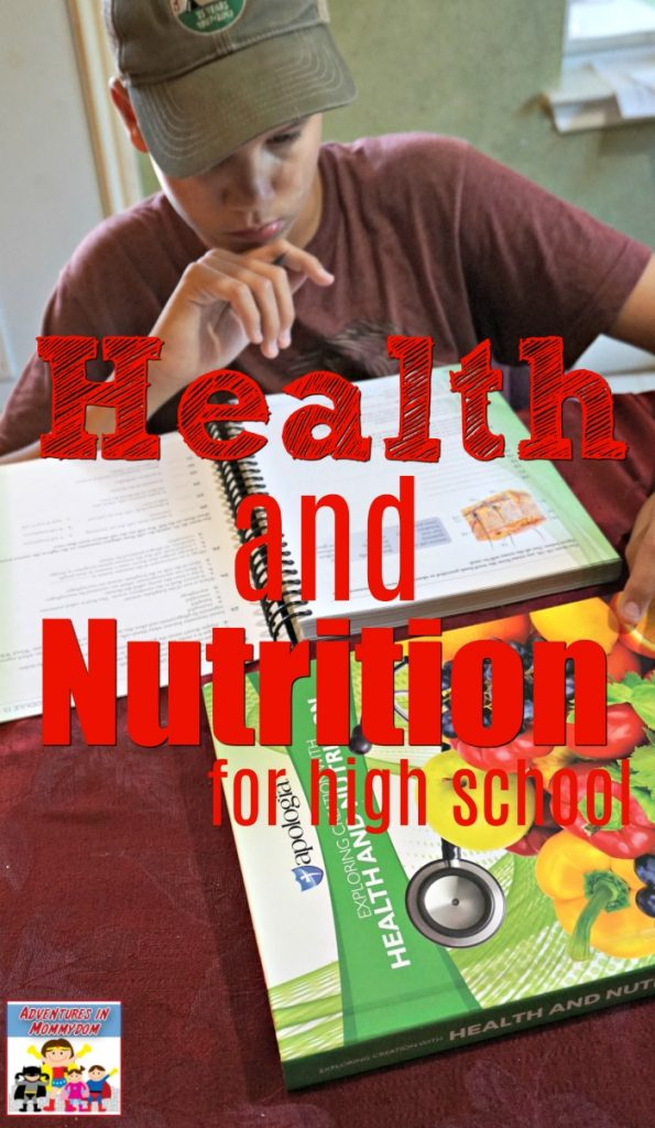Health and Nutrition for high school science curriculum