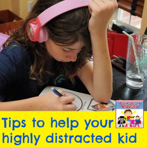 Help your distracted kid focus