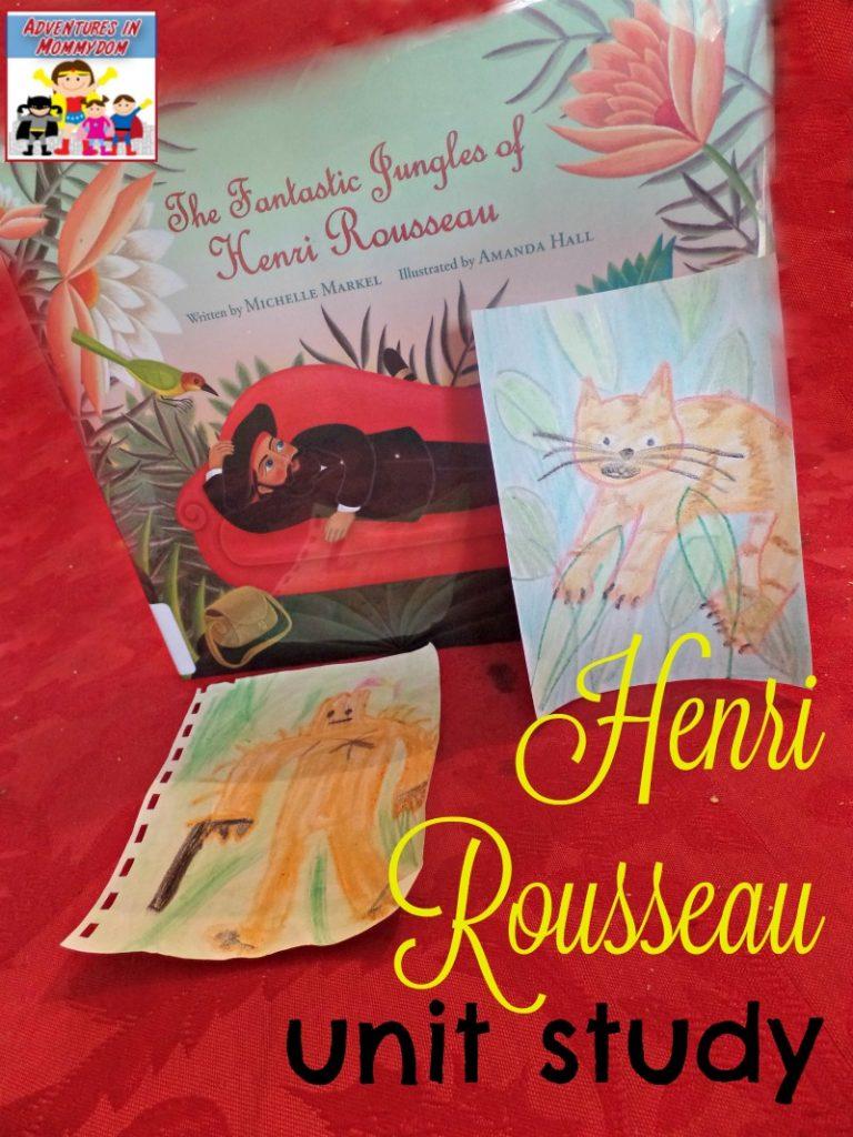 Henri Rousseau unit study