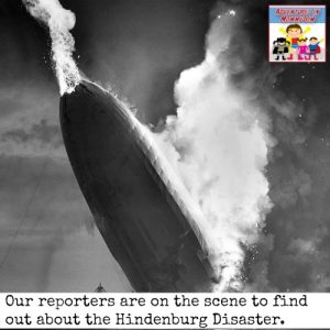 Hindenburg disaster resources for junior high