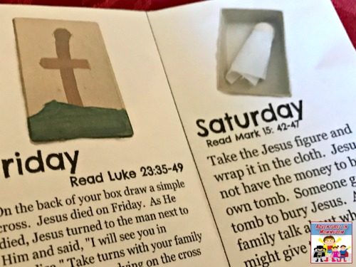 Holy week devotional for young kids