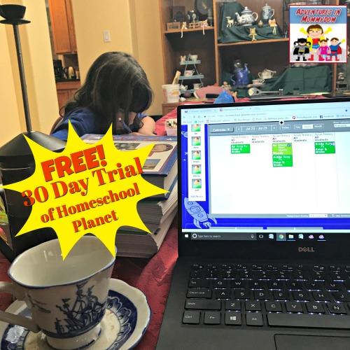 Homeschool Planet trial