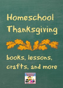Homeschool Thanksgiving lessons