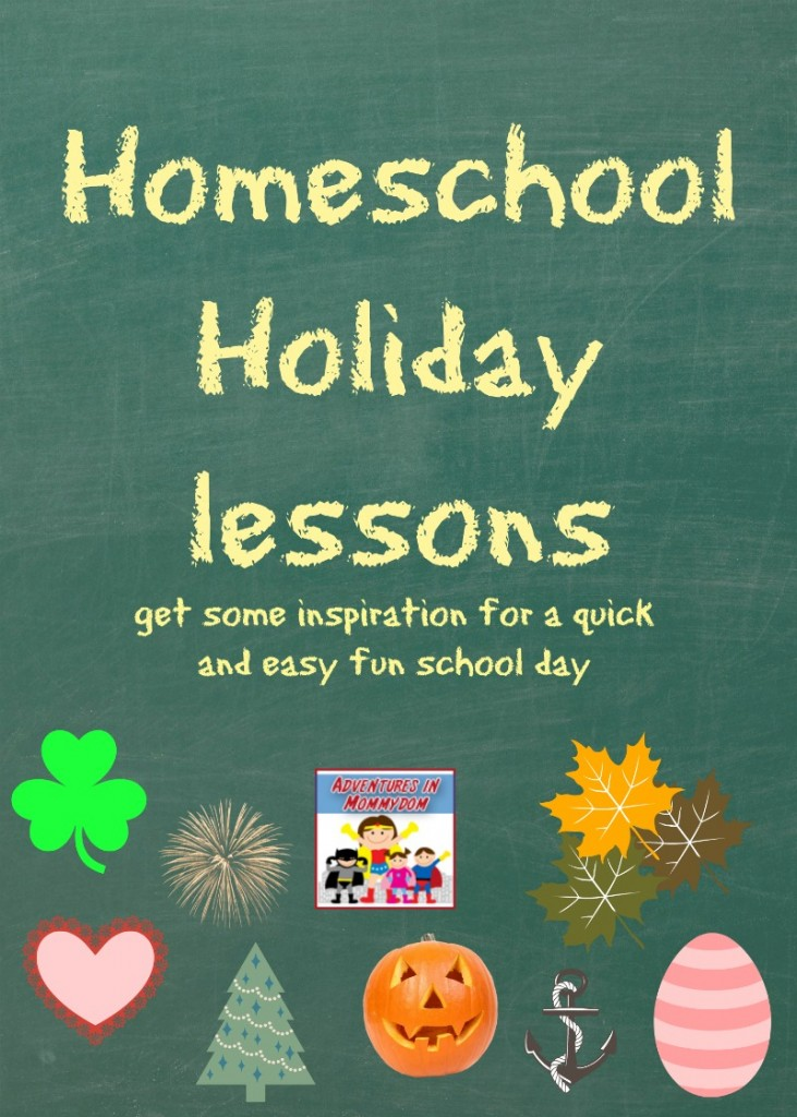 Homeschool holiday lessons