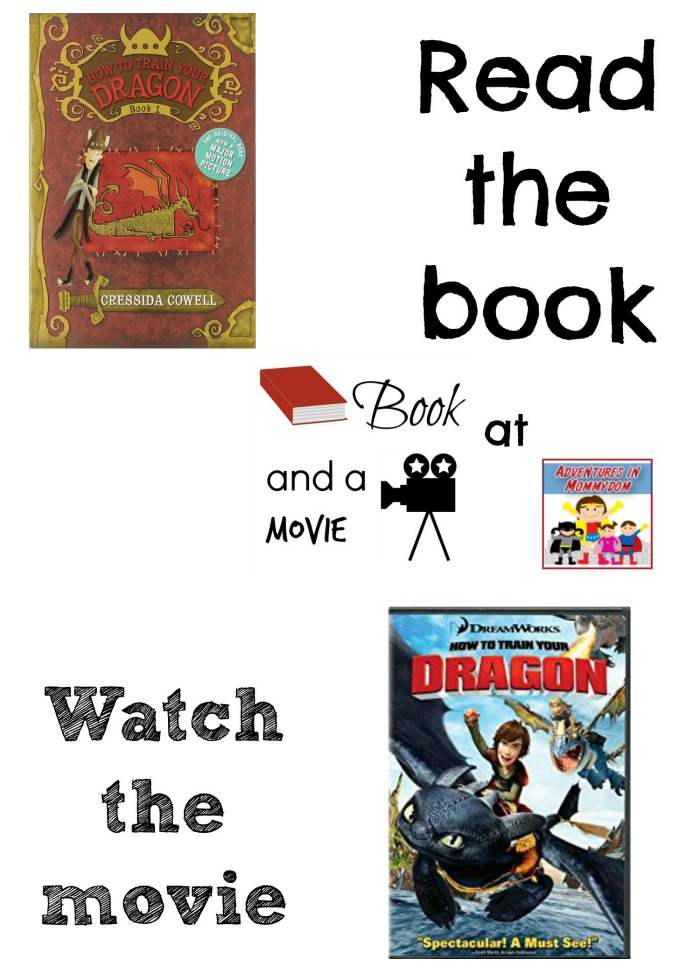 How to train your dragon book turned into a movie