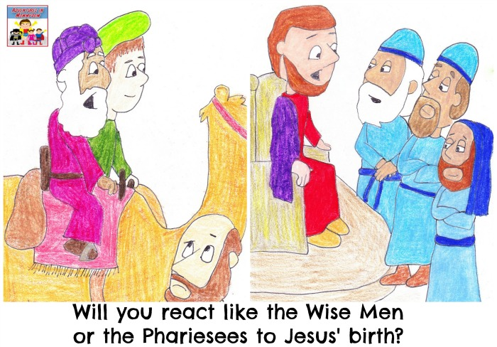 How will you react to Jesus' birth