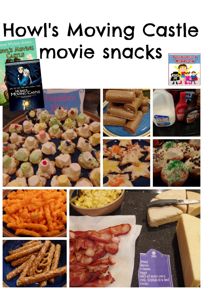 Howl's Moving Castle movie night snacks