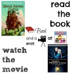 Howl's moving castle book and a movie feature