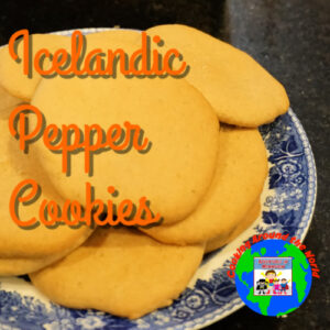 Icelandic pepper cookies geography recipe europe
