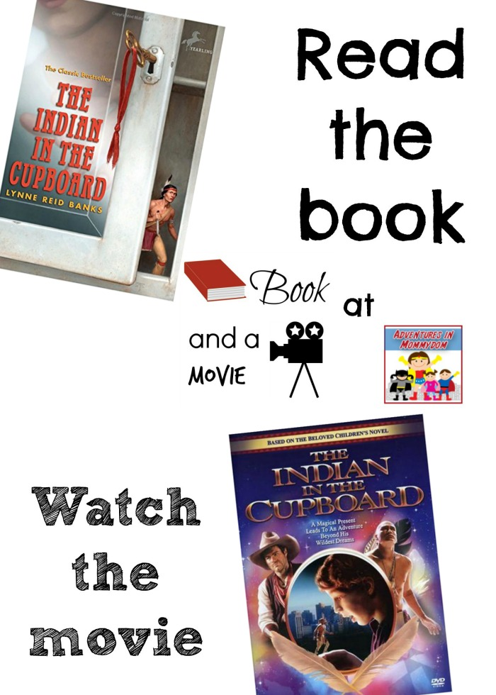 Indian in the Cupboard book and a movie