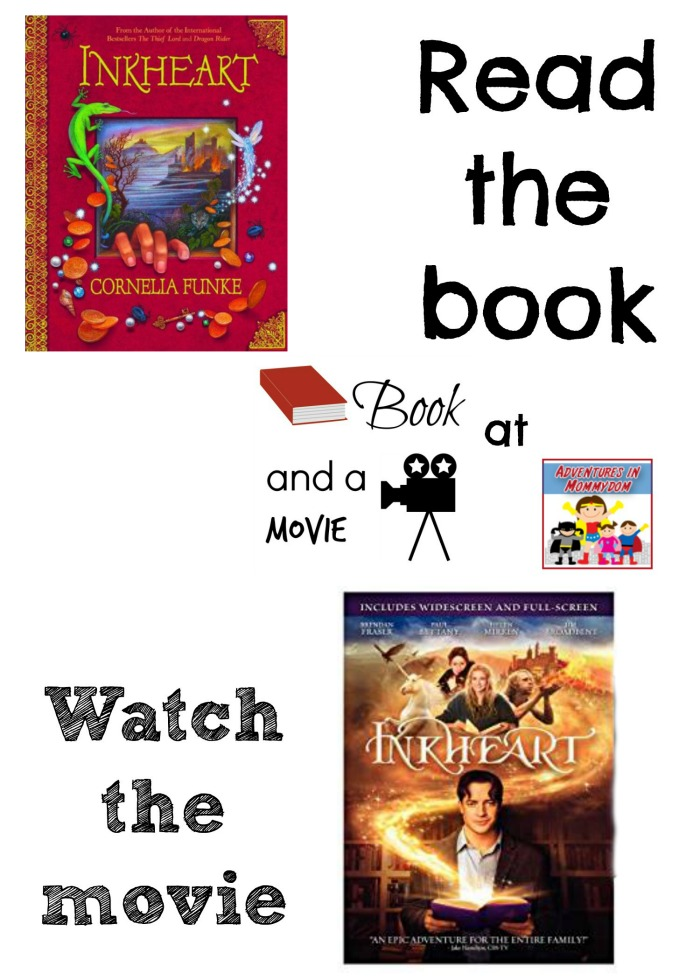 Inkheart book and a movie