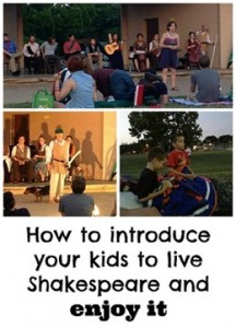 How to introduce your kids to Shakespeare
