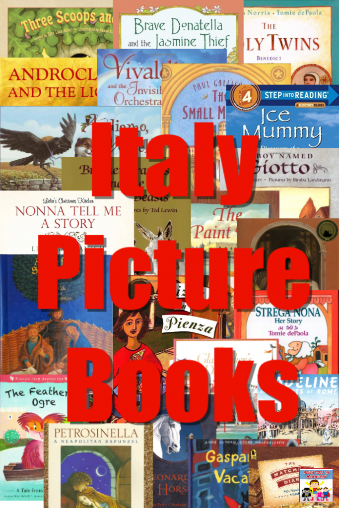 Italy Picture books for geography lessons