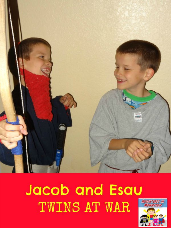 Jacob and Esau activities