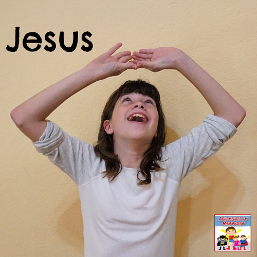 Jesus Christmas story minute to win it game
