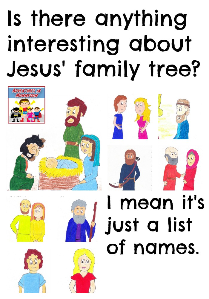 Jesus family tree lesson