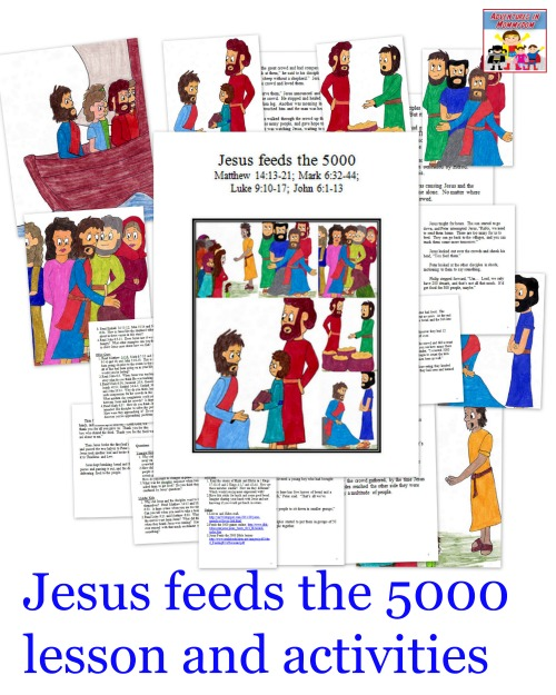 Jesus feeds the 5000 Sunday School lesson