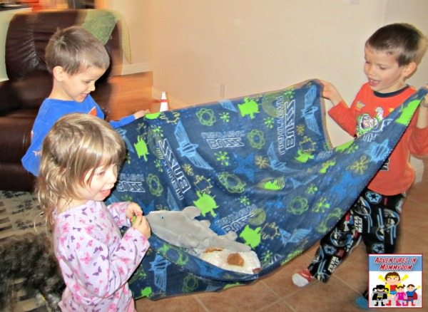 Jesus heals a paralytic activity for preschool